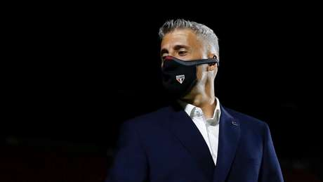 Crespo falou sobre a liderança geral do São Paulo no Campeonato Paulista (Foto: Divulgação)