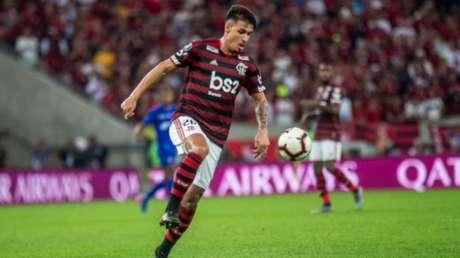 Thuler atuará no futebol francês (Foto: Marcelo Cortes/Flamengo)