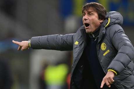 Antonio Conte tem quatro títulos do Campeonato Italiano (Foto: AFP)