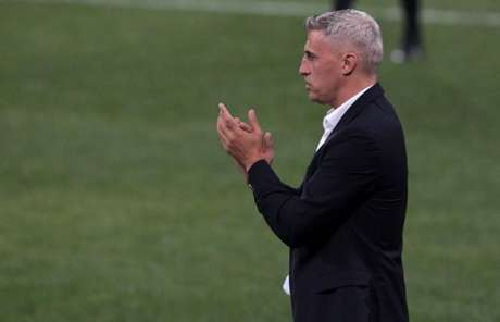 Crespo analisou o empate contra o Corinthians (Foto: Rubens Chiri/saopaulofc.net)