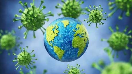 A pandemia do novo coronavírus é uma crise sanitária mundial