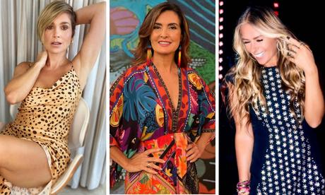 Flávia Alessandra, Fátima Bernardes e Adriane Galisteu: mais lidas (Fotos: Reprodução/Instagram)