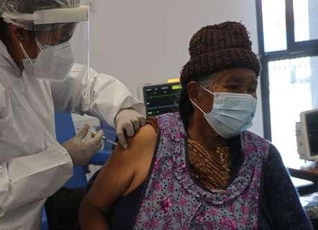 A vacinação está atrasada em muitos países da região
