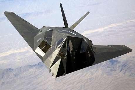 O protótipo do F-117 também foi testado em Groom Lake