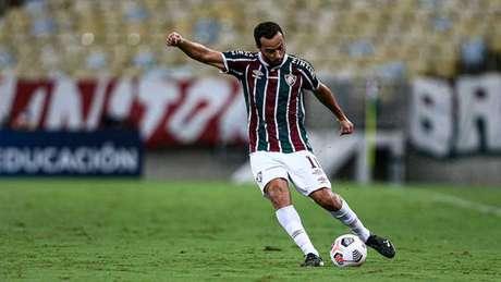 Nene, durante partida do Fluminense na temporada (Foto: Lucas Merçon/Fluminense FC)