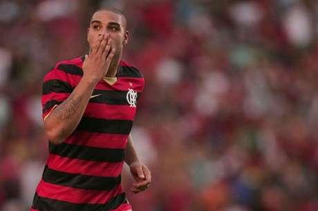 Adriano fez história com a camisa do Flamengo (Foto:Gilvan de Souza/LANCE!Press)