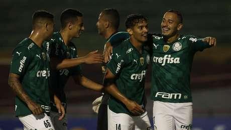 Gustavo Scarpa marcou o único gol do Palmeiras