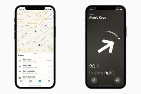 Rede Buscar espalha sinal do AirTag perdido para ajudar no rastreio
