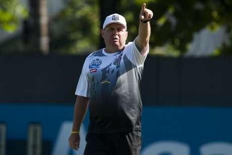 Marcelo Fernandes é auxiliar permanente do Santos (Foto: Ivan Storti/Santos)