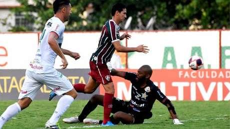 Ganso, durante partida entre Fluminense e Portuguesa (Foto: Mailson Santana/Fluminense FC)
