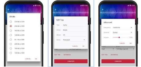 O aplicativo converte arquivos direto do seu celular Android para o formato MP3