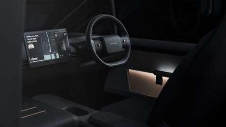 Projeto de carro elétrico da Uber e Arrival