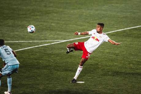Fabio Gomes teve bom início nos Estados Unidos (Foto: Divulgação / NY Red Bulls)