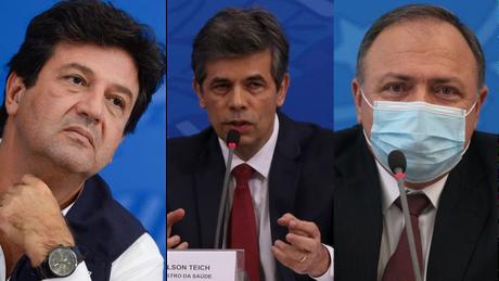 Os ex-ministros da Saúde Henrique Mandetta, Nelson Teich e Eduardo Pazuello serão os primeiros a depor à CPI