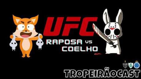 O duelo entre Coelho e Raposa promete pegar fogo no jogo do próximo domingo-(Arte de Gilvan Marçal)