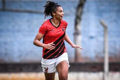 Atacante prefere não frisar vantagem na partida de ida (Maria Helena Matoso/Athletico-PR)