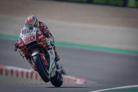 Takaaki Nakagami ficou em 4º no GP da Espanha