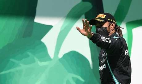 Lewis Hamilton alcançou um grande triunfo no último domingo em Portugal