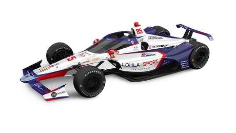 O carro de Stefan Wilson para a Indy 500