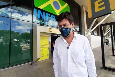 O ex-ministro da Saúde Henrique Mandetta foi ouvido na CPI da Covid