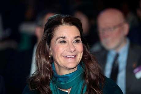 Melinda Gates durante evento em Oslo 06/11/2018 Lise Aserud/NTB Scanpix/via REUTERS