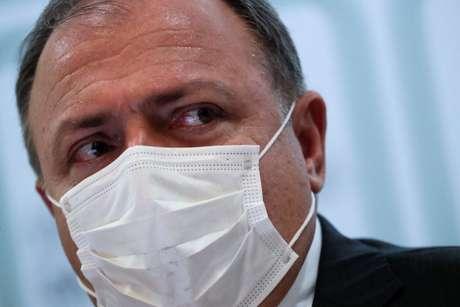 Ex-ministro da Saúde Eduardo Pazuello 15/03/2021 REUTERS/Ueslei Marcelino