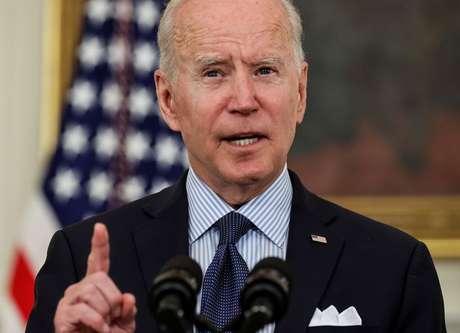 Biden faz discurso na Casa Branca  4/5/2021   REUTERS/Jonathan Ernst