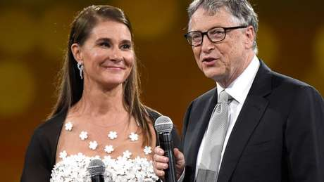Melinda e Bill Gates deram boa parte de sua fortuna à sua Fundação que trabalha com caridade pelo mundo