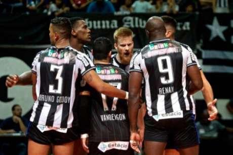 Vôlei do Botafogo foi encerrado (Foto: Vítor Silva/SSPress/Botafogo)