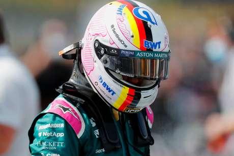 Sebastian Vettel ainda não se sente totalmente adaptado ao carro da Aston Martin