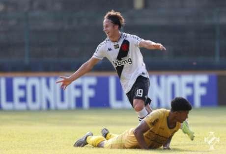 Galarza tem se destacado neste início de temporada (Rafael Ribeiro/Vasco)