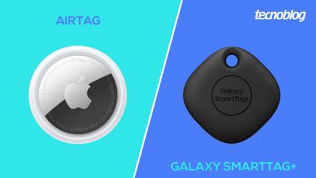 AirTag vs Galaxy SmartTag+