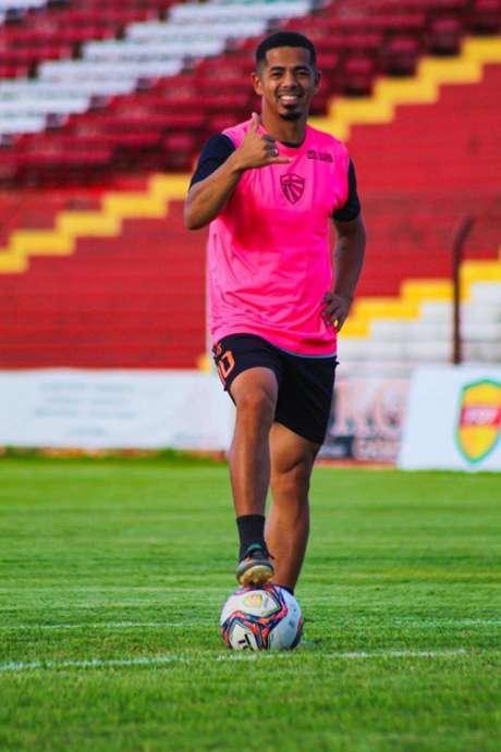 Ariel Marques fez um balanço positivo da passagem pelo São Luiz (Foto: assessoria do São Luiz)