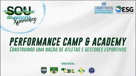SDE Performance Camp & Academy será no interior de São Paulo, em julho (Foto: Divulgação/Sou do Esporte)
