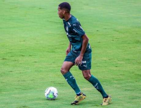 Ruan em ação pelo Palmeiras (Foto: Reprodução/Instagram)