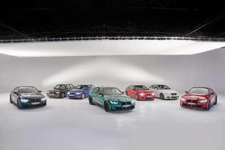 Todas as gerações do BMW M3.