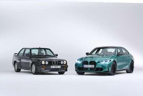 BMW M3 Mk1 e Mk6.