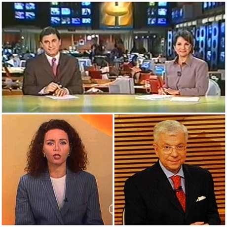 As duplas desfeitas Gloria Vanique e Daniela Lima (CNN Brasil), Christiane Pelajo e William Waack (Globo) e Ana Paula Couto e Karyn Bravo (TV Cultura)