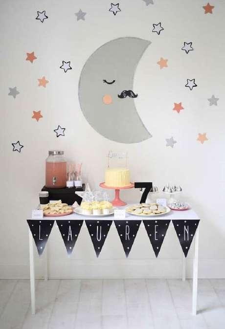 18. Mais uma ideia linda e simples de decoração para incrementar a sua festa