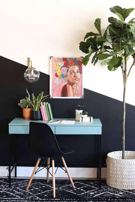 2. Há várias maneiras de como inserir na meia parede na sua decoração – Foto: Home Fashion Trend