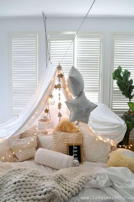 3. Cabana em casa romântica – Foto Life is a party