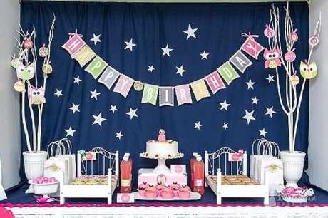 1. Ideias de decoração para festa do pijama