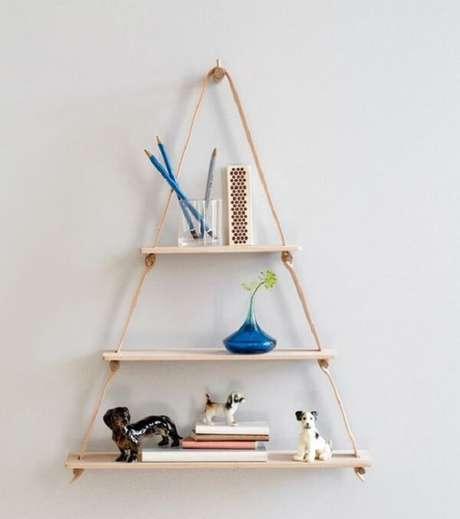 36. Design criativo para prateleira de corda. Fonte: Design Milk