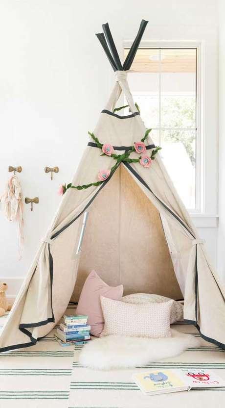 1. Como fazer cabana em casa – Foto Pinterest
