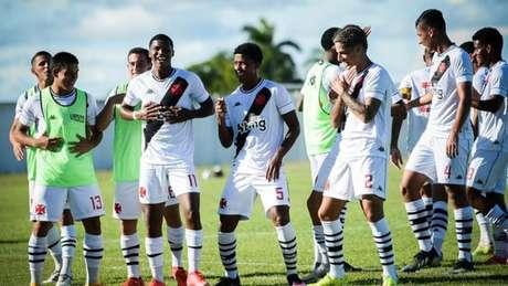 Vasco saiu na frente no duelo contra o São Raimundo-RR no sub-20 (Foto: Divulgação/Helio Garcias/BV Esportes)