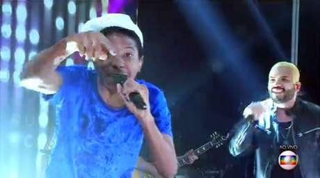 Final do BBB 21 contou com apresentação do rapper Projota com Lucas