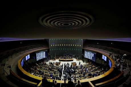 Vista do plenário da Câmara dos Deputados em Brasília 01/02/2021 REUTERS/Adriano Machado