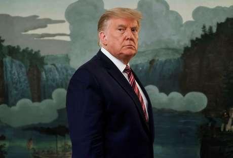 Donald Trump, ex-presidente dos EUA. Washington, EUA. 09/09/2020. REUTERS/Jonathan Ernst