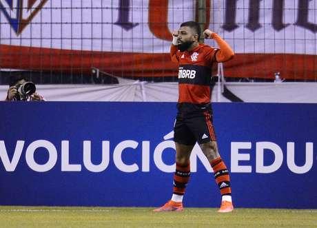 Gabigol teve atuação de destaque contra a LDU