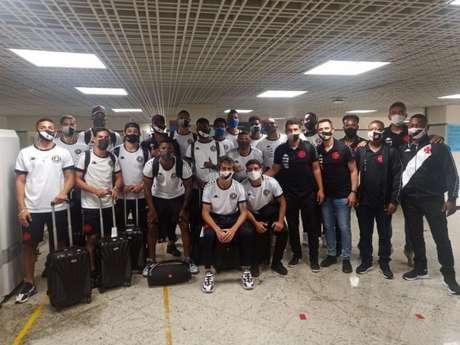 Equipe Sub-20 desembarcou em Roraima na última segunda e enfrenta o São Raimundo nesta quarta (Divulgação)